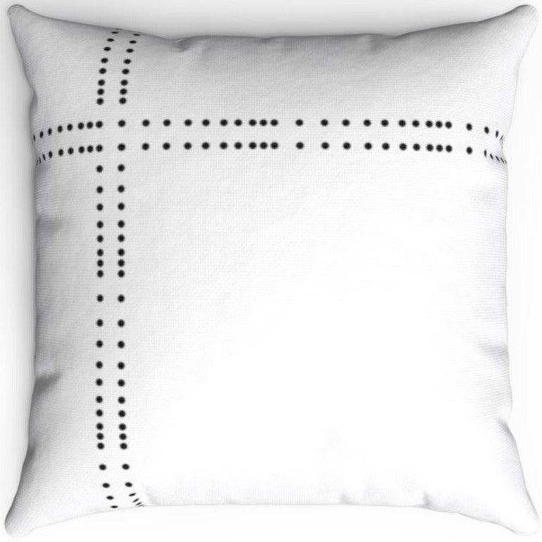 Black & White Dot Patterned 16