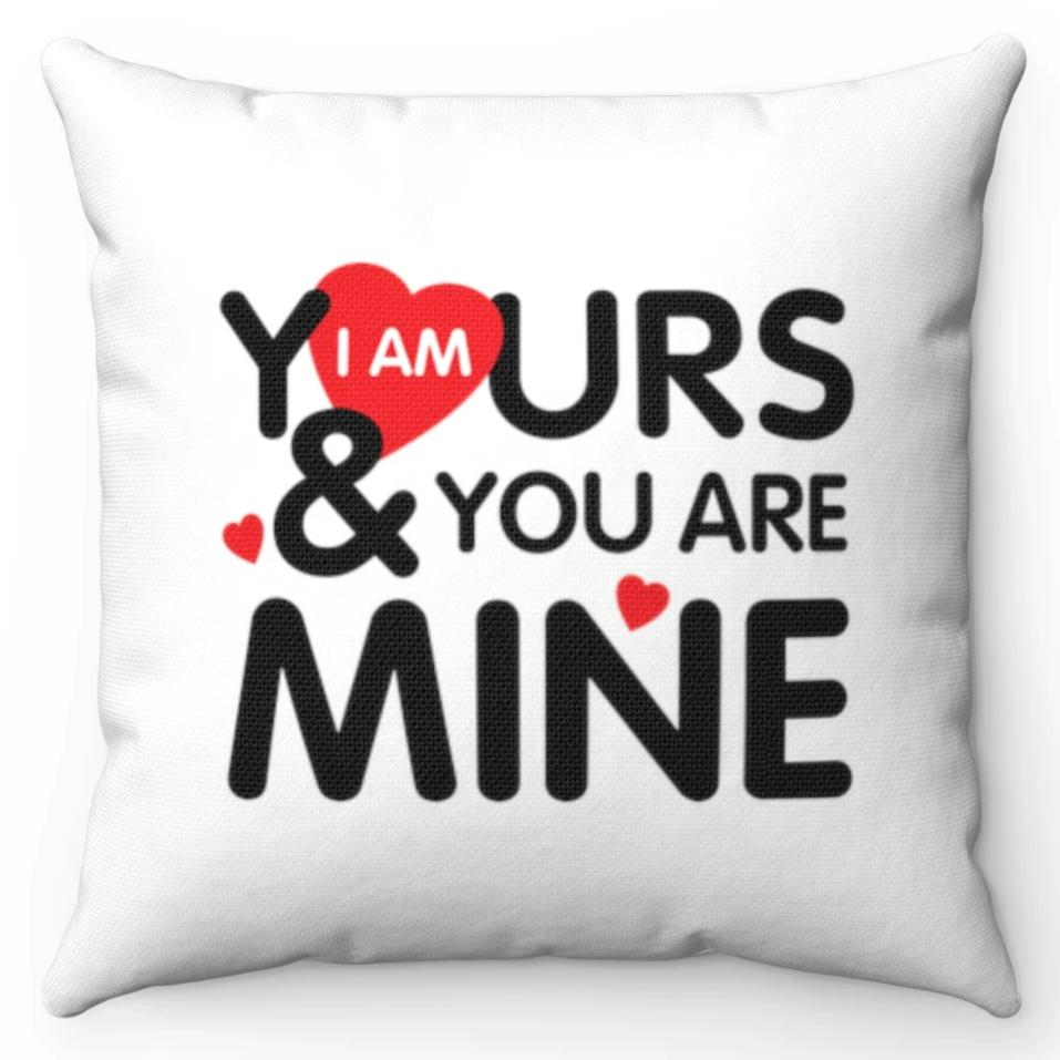 I Am Yours & You Are Mine Black, Red & White 20