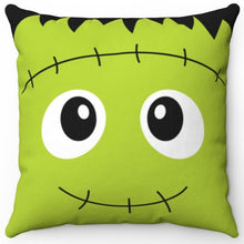 "Load image into Gallery viewer, Frankie 16"" x 16"" Square Throw Pillow"