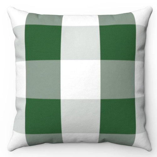Green & White Buffalo Plaid 20