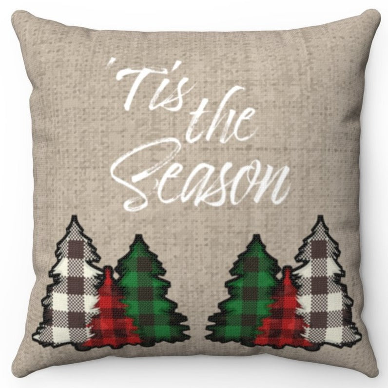 Tis The Season With Plaid Trees 16