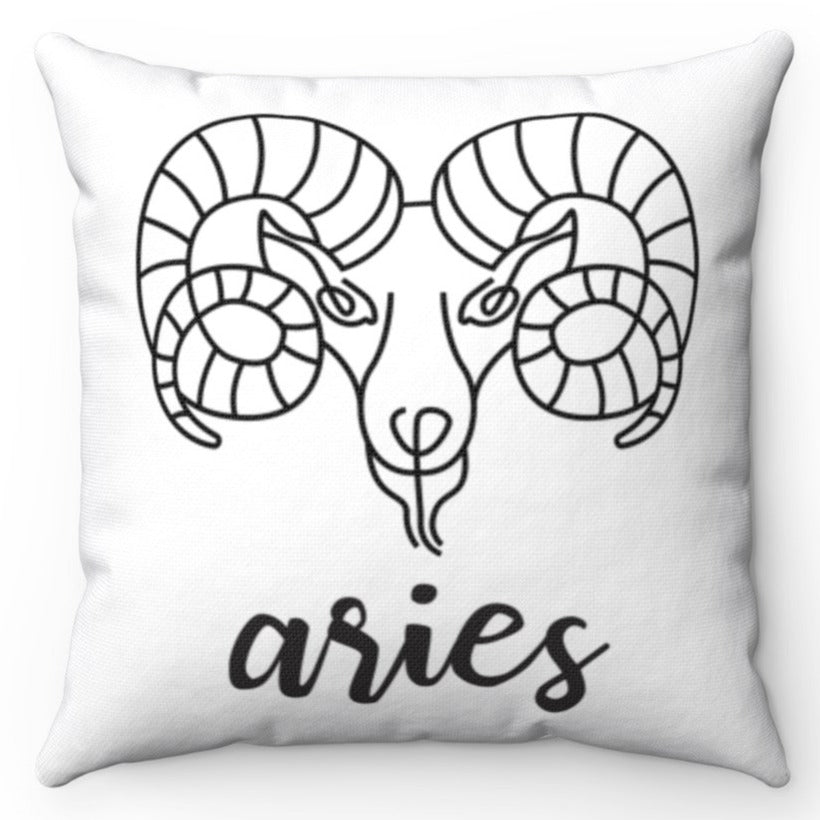Aries Black & White Printed Design 16