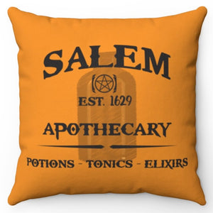 "Salem Apothecary 18"" Or 20"" Square Throw Pillow Covers"