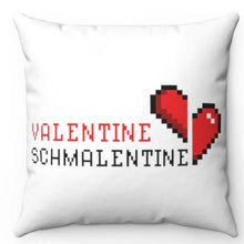 "Load image into Gallery viewer, Valentine Schmalentine 18"" x 18"" Throw Pillow Cover"