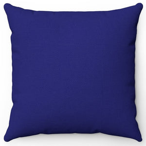 "Midnight Blue 16"" 18"" Or 20"" Square Throw Pillow Cover"
