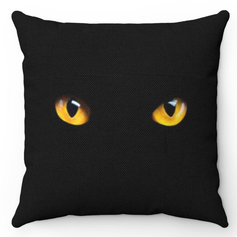 Intense Yellow Eyed Black Cat 18