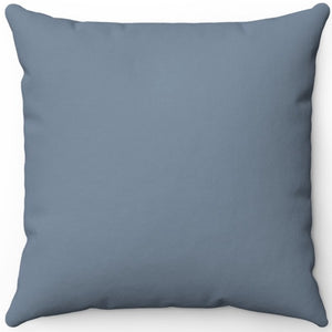 "Light Slate Grey 16"" 18"" Or 20"" Square Throw Pillow Cover"
