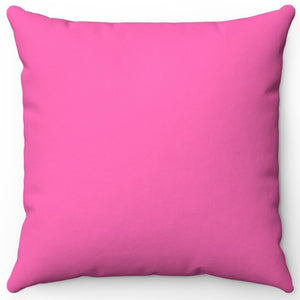 "Hot Pink 16"" 18"" Or 20"" Square Throw Pillow Cover"