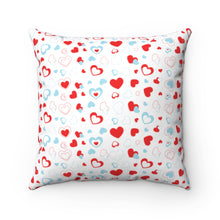 "Load image into Gallery viewer, I Heart You 18"" x 18"" Throw Pillow Cover"