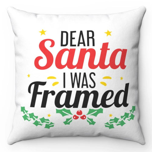 Dear Santa I Was Framed 18