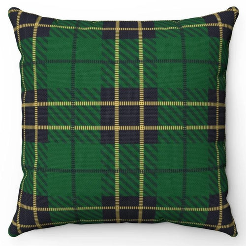Green Black & Yellow Buffalo Plaid 18