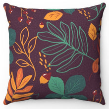 "Load image into Gallery viewer, Autumn Splendor 18"" x 18"" Throw Pillow"