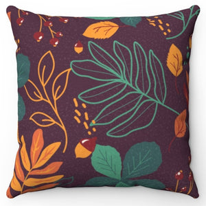 "Autumn Splendor 18"" x 18"" Throw Pillow"