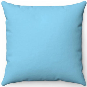 "Sky Blue 16"" 18"" Or 20"" Square Throw Pillow Cover"