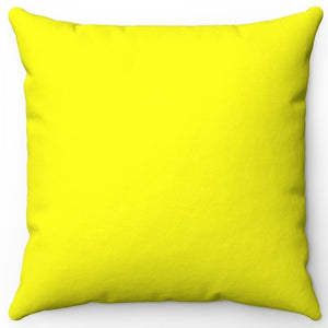 "Standard Yellow 16"" 18"" Or 20"" Square Throw Pillow Cover"