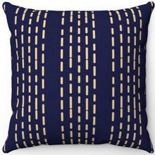 "Load image into Gallery viewer, Geometric Boho Stratosphere Patterned 18"" x 18"" Square Throw Pillow"