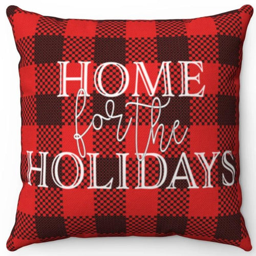 Home For The Holidays On Buffalo Plaid 16