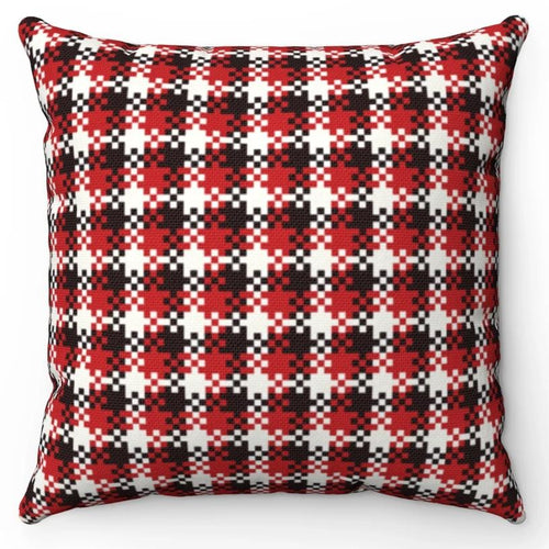 Red Black & White Buffalo Check 18