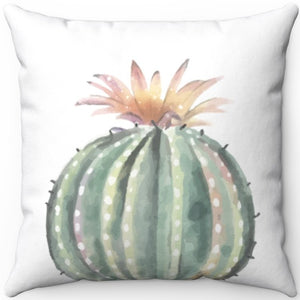 "Prickly Cactus #Three 16"" 18"" Or 20"" Square Throw Pillow Cover"