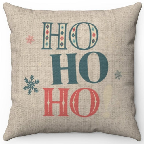 Ho Ho Ho On Burlap 16