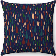 "Load image into Gallery viewer, Drops Of Jupiter Pattern 18"" x 18"" Square Throw Pillow"