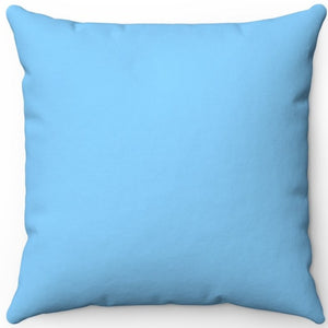 "Light Sky Blue 16"" 18"" Or 20"" Square Throw Pillow Cover"