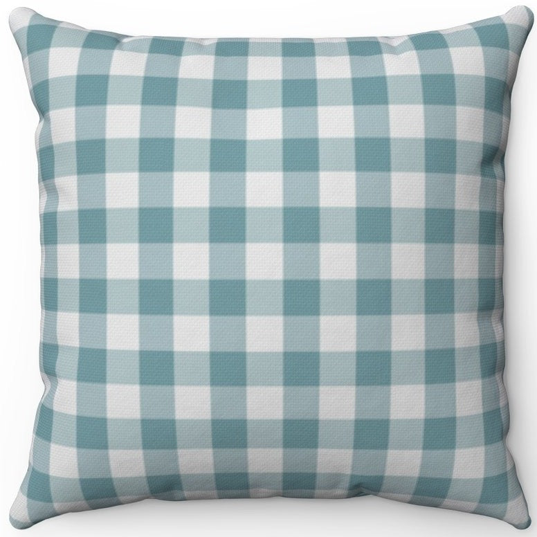 Retro Dusty Green Plaid 16