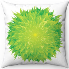 "Load image into Gallery viewer, Flower Power 18"" x 18"" Square Throw Pillow"
