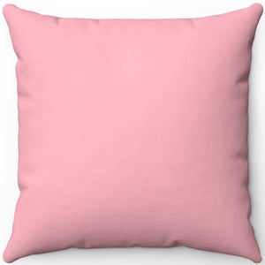 "Light Pink 16"" 18"" Or 20"" Square Throw Pillow Cover"