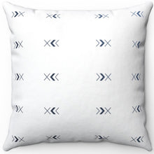 "Load image into Gallery viewer, Minimal Boho Arrow Pattern 16"" 18"" Or 20"" Square Throw Pillow Cover"