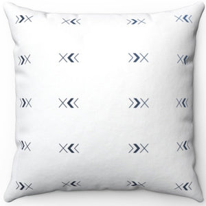 "Minimal Boho Arrow Pattern 16"" 18"" Or 20"" Square Throw Pillow Cover"