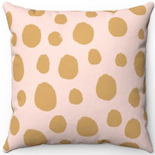 "Load image into Gallery viewer, Animal Spots Pastel Print 16"" 18"" Or 20"" Square Throw Pillow Cover"