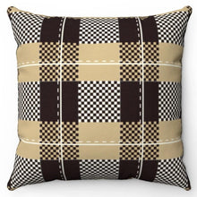 "Load image into Gallery viewer, Buffalo Plaid Print 18"" Or 20"" Square Throw Pillow Cover"