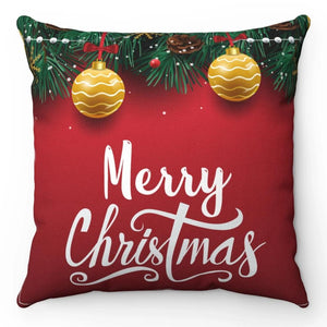 "Designer Christmas 18"" x 18"" Throw Pillow"