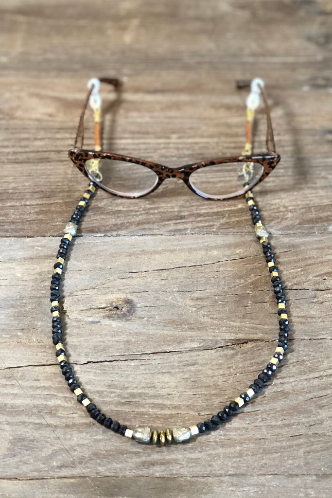 Raven Eyeglass Necklace