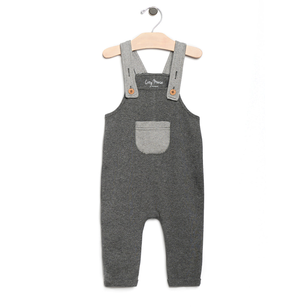 Melange Pocket Overall