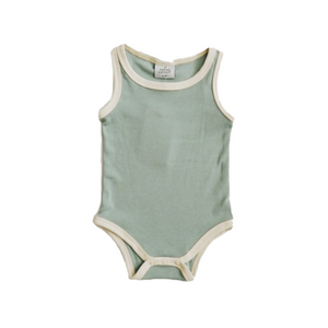 Ribbed Bodysuit - Ocean
