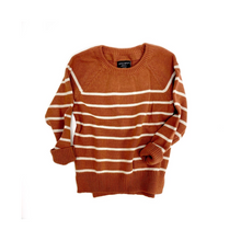 Knit Sweater - Rust