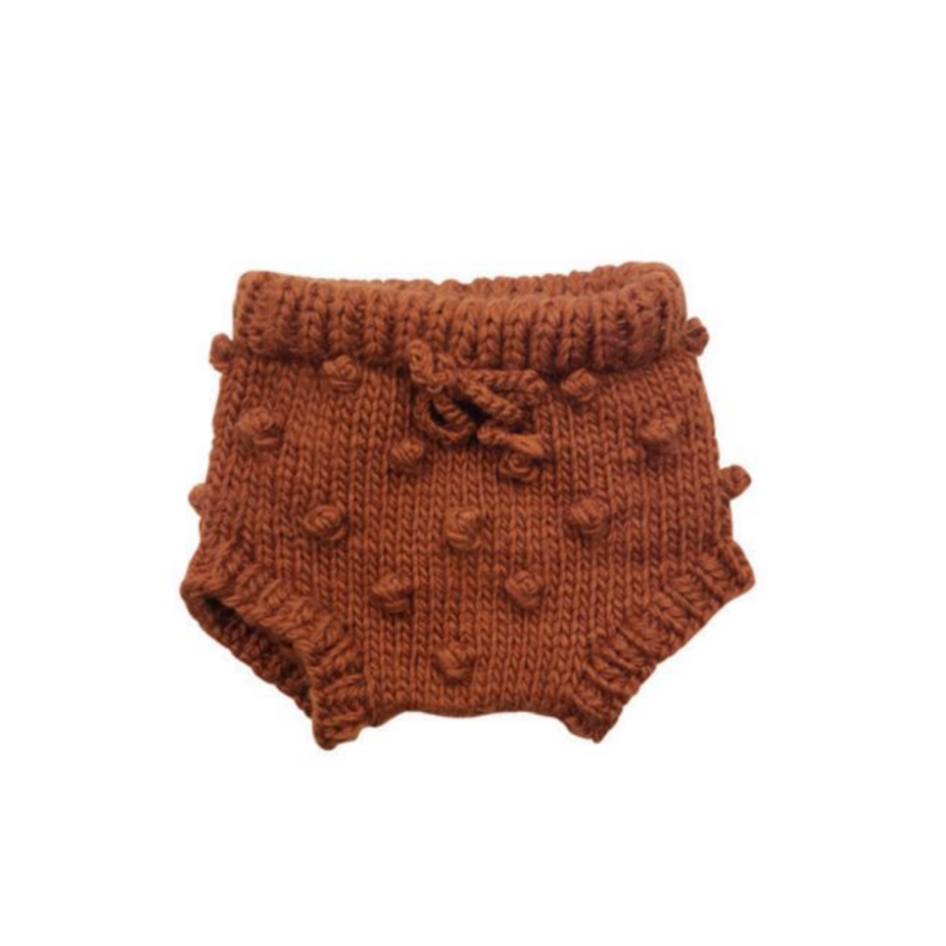 Knit Bloomers - Cinnamon