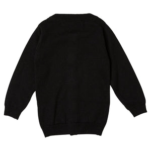 Sweater Cardigan - Black