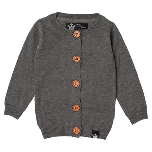 Sweater Cardigan - Grey