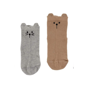 Animal Socks - 2 Pack