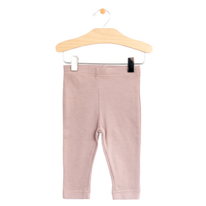 Crop Legging - Dusty Mauve