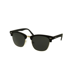 Mini Revolver Sunglasses - Smoke