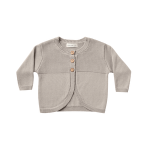 Knit Cardigan - Fog