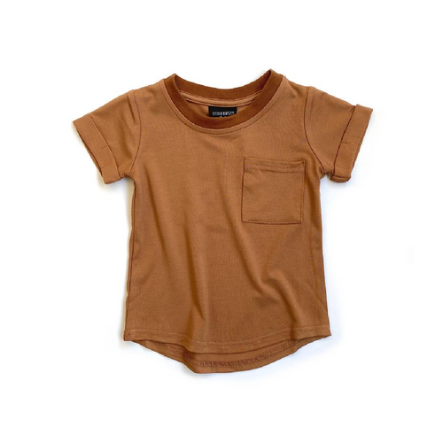 Pocket Tee - Rust