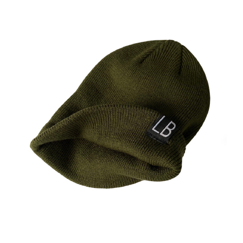 Knit Beanie - Forest Green