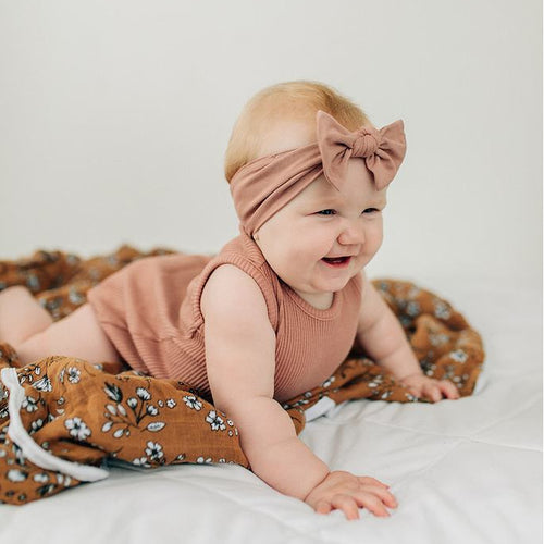 Dusty Rose Headwrap