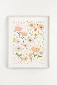 Blush Bloom Art Print