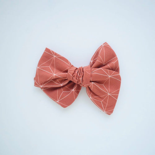 Copper Luxe Bow